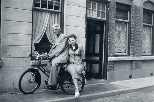 Trien and Bart circa 1950