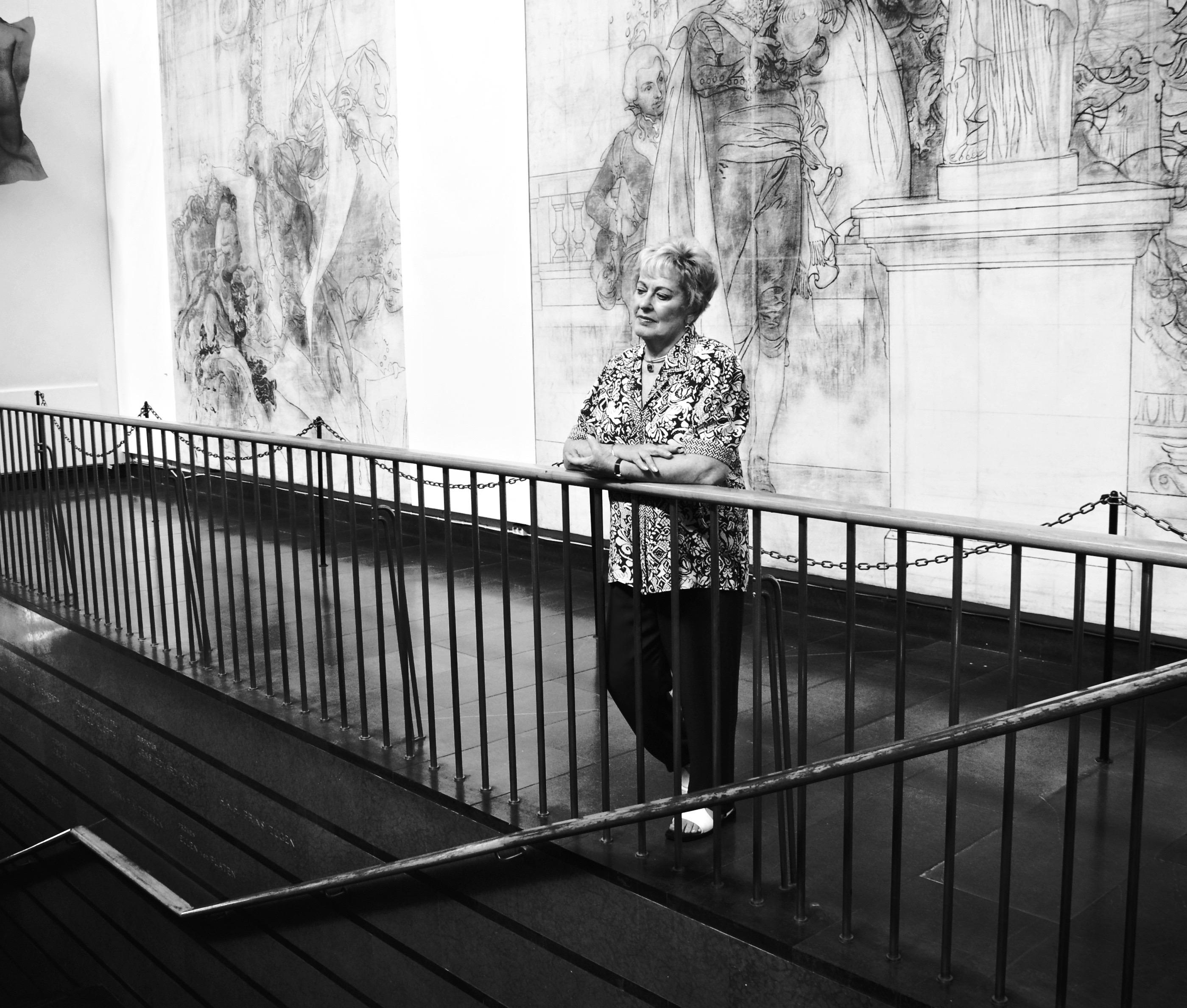 Irene Krausz-Fainman tillbaka på Malmö museum 2008