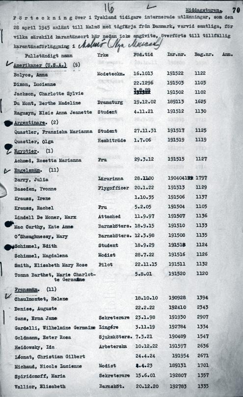 Irene-passenger-list