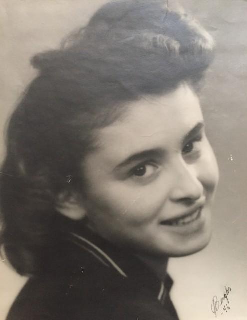 Lola Sylman i Sverige 1946