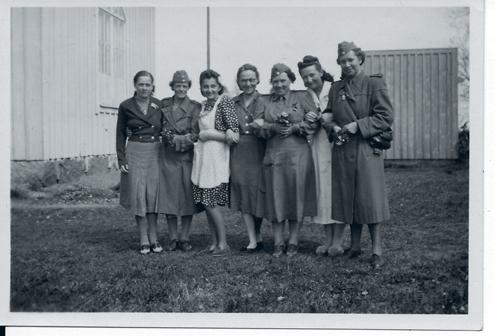Maria Zurowska i Nässjö 1945