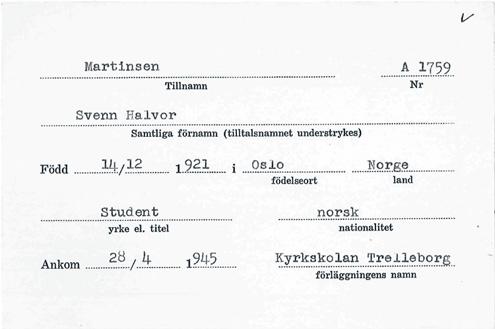 Svenn-registration-card
